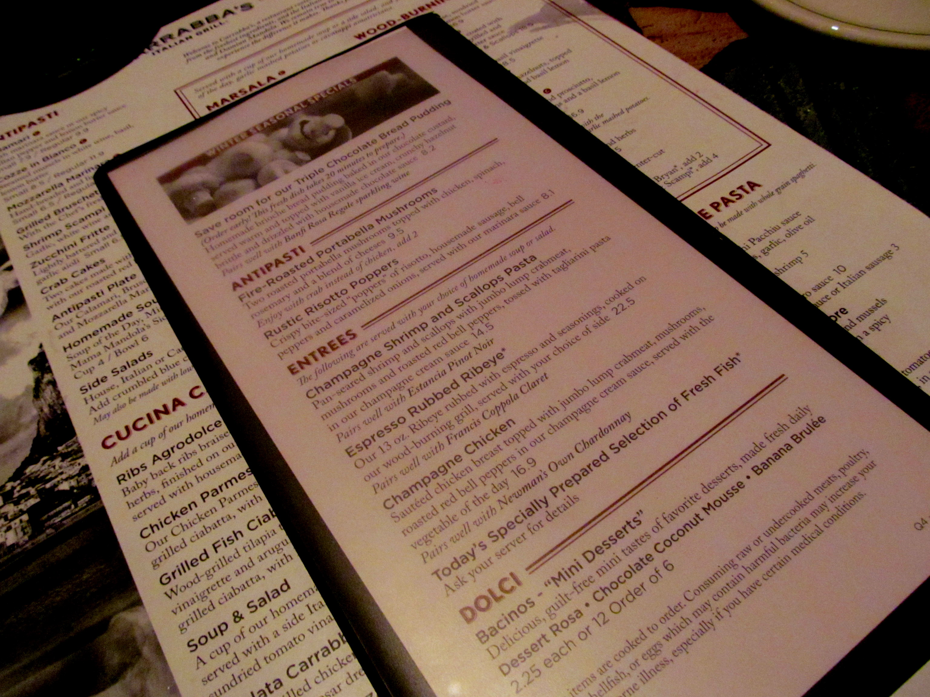 Carrabba's Italian Grill - West Palm Beach - Cait Plus Ate